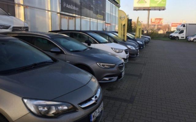 street view salon samochodowy