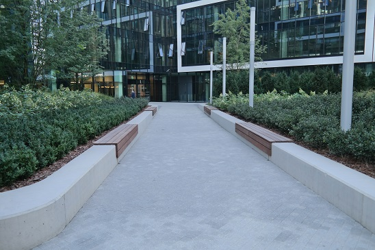 Gdański Business Center Patio